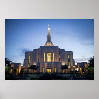 Gilbert Arizona LDS tempelaffisch Poster