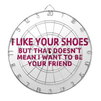 Gilla ditt skor piltavla