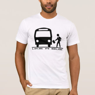Gilla en buss t shirt