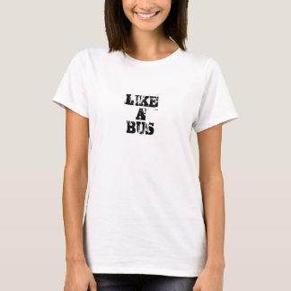 Gilla en buss t-shirt