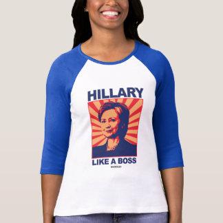 Gilla en chef - Hillary propaganda Tshirts