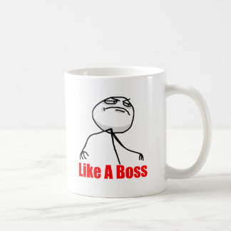Gilla en chef vit mugg