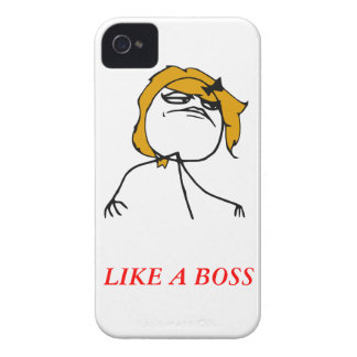 Gilla ett Meme för chefflickaiPhone 4 fodral Case-Mate iPhone 4 Case