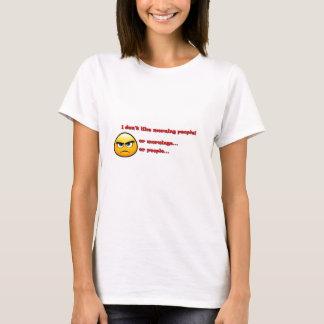 Gilla inte morgnar tee shirts