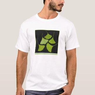 gingkoen lämnar t-skjortan, kvinnor t-shirt