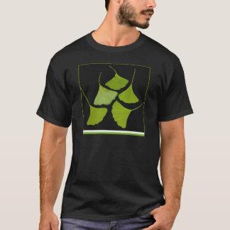 gingkoen lämnar t-skjortan, t shirt