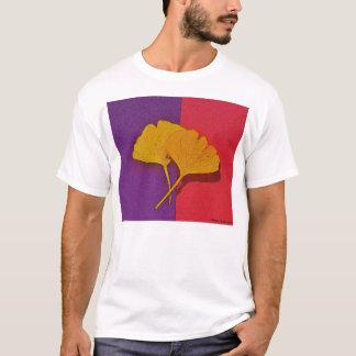 Gingkoen lämnar T-tröja T-shirt