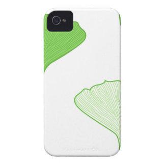 GINGKOGRÖNT LÄMNAR T-tröjakreativ Case-Mate iPhone 4 Skal