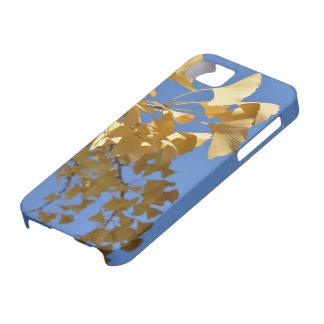 gingkolöviphonen täcker iPhone 5 skal