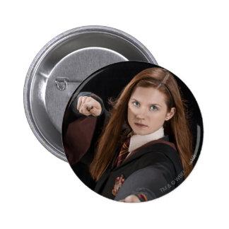 Ginny Weasley Standard Knapp Rund 5.7 Cm