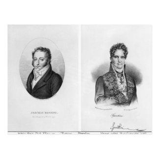 Gioacchino Rossini Gaspare som by inristas Vykort