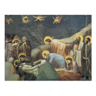 Giotto klagovisa av Kristus Vykort