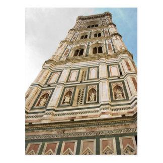 Giottos sätta en klocka på torn vykort