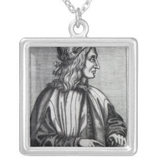 Giovanni Pico della Mirandola, från Silverpläterat Halsband