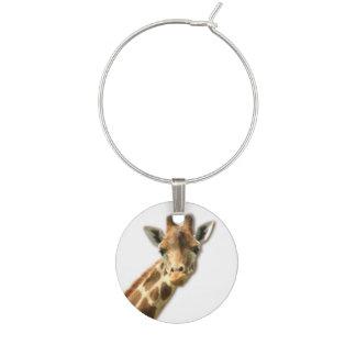 Giraff Berlock Vinglas