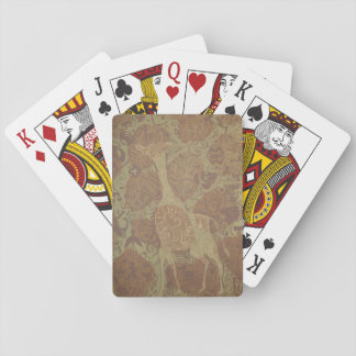 Giraff i design spel kort