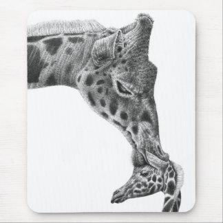 Giraff & kalv Mousepad Musmatta