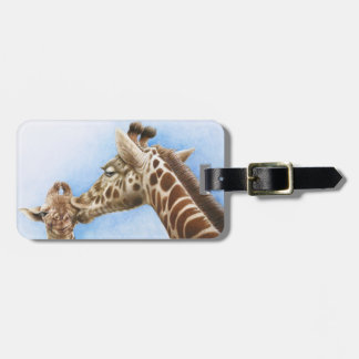 Giraff- & kalvbagagemärkre bagagebricka