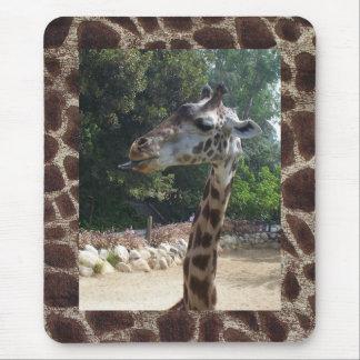 Giraff som är stygg musmatta