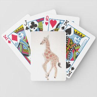 giraff som drar eliana spelkort