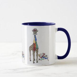 Giraff som ha på sig slipsar
