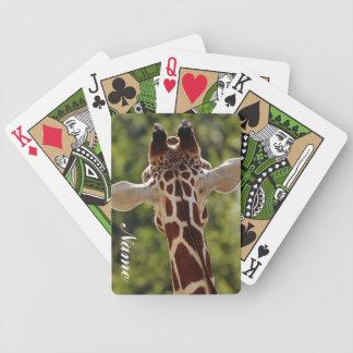 Giraff Spelkort