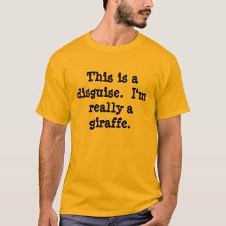 Giraffdräkt Tee Shirt