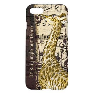 Giraffet är det en iphone case för djungel ut där iPhone 7 skal