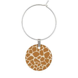 Giraffet Spots vinberlock Berlock Vinglas
