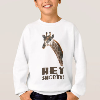 Giraffet tittar dig, högväxt den ja shorty grabben t-shirts