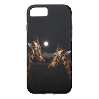 Giraffkärlek i månsken,