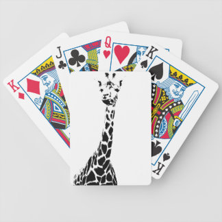 Girafftryck Spelkort