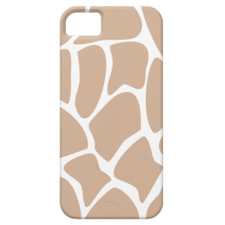 Girafftryckmönster i Beige. Barely There iPhone 5 Fodral