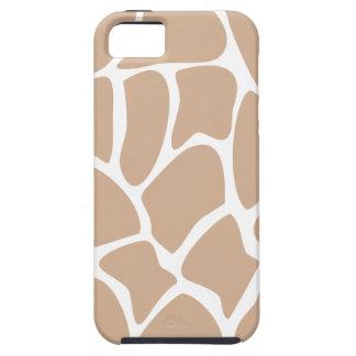Girafftryckmönster i Beige. iPhone 5 Case-Mate Skydd