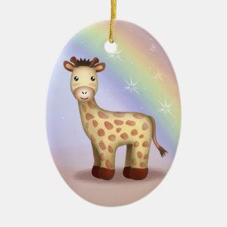 Giraldo giraffet - Ornamnet Julgransprydnad Keramik