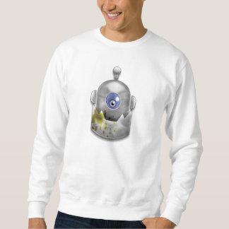 Girig robotlogotyp sweatshirt