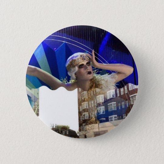 Girl pin standard knapp rund 5.7 cm