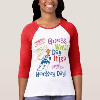 Gissning vilken dag det är hockey t-shirt