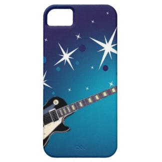 Gitarr - blått iPhone 5 hud