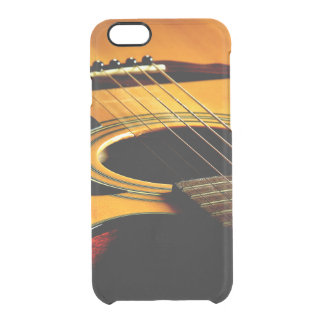 Gitarr Clear iPhone 6/6S Skal