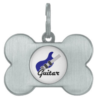 Gitarr ID-bricka Husdjur