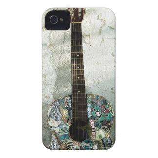 gitarr iPhone 4 Case-Mate fodral