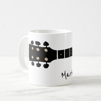 gitarr kaffemugg