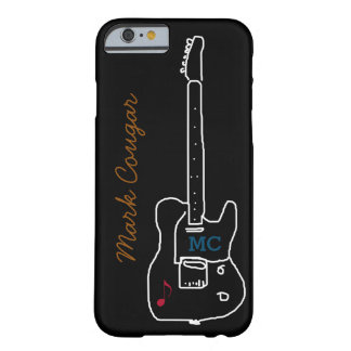 gitarr med namn barely there iPhone 6 fodral