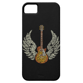 Gitarr med vingar barely there iPhone 5 fodral