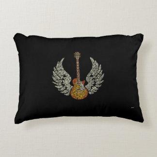 Gitarr med vingar prydnadskudde