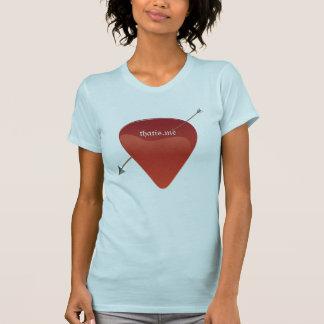 Gitarr PlektrumT-tröja T-shirt
