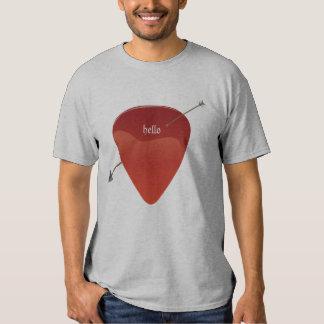 Gitarr PlektrumT-tröja T Shirt