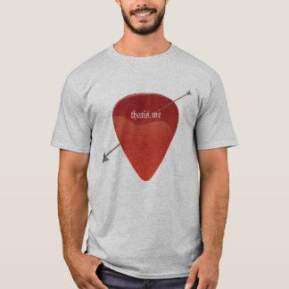 Gitarr PlektrumT-tröja Tee Shirts