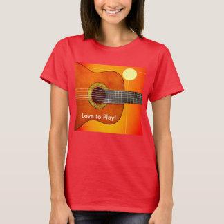 Gitarr & solen tröjor